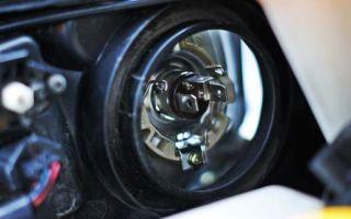 Nissan x trail замена лампы ближнего света