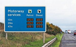 Автозаправочные станции сталкиваются с вопросом об «эксплуатационных» ценах