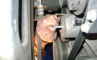 Как заменить ремень генератора на фиат дукато