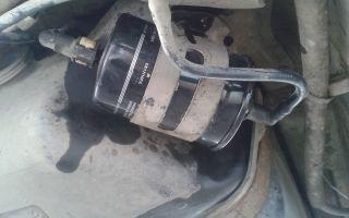Замена топливного фильтра форд мондео 3