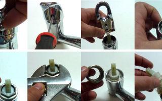Как поменять прокладку в однорычажном смесителе