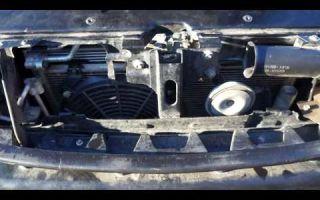 Замена радиатора приора с кондиционером halla