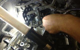 Шкода октавия а5 замена маслосъемных колпачков