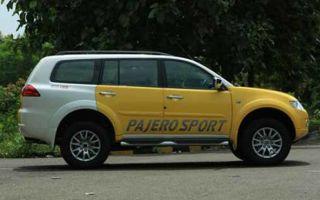 Mitsubishi pajero sport 2014 обзор