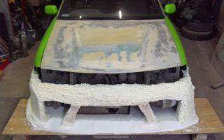 Как сделать бампер на авто своими руками
