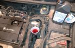 Замена масла opel astra j 1.6