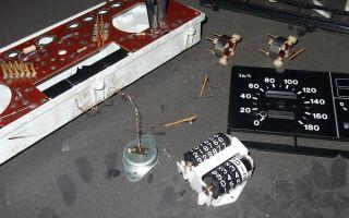 Как разобрать панель приборов ваз 2109