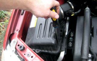 Замена воздушного фильтра авео т250