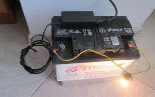 Как зарядить авто аккумулятор блоком питания от ноутбука