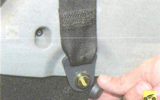 Рено логан подушки безопасности где находятся