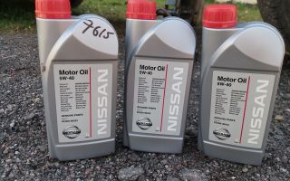 Какое масло лить в ниссан альмера классик