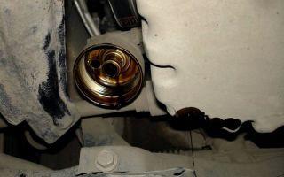 Тойота рав 4 замена масла в двигателе