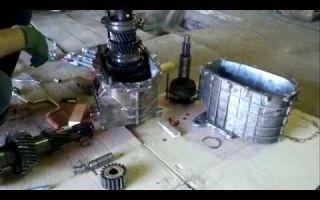 Как снять коробку передач на газ 3309
