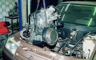 Замена двигателя ваз 2109 на ваз 2112
