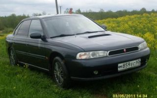 Subaru legacy 1995 года отзывы