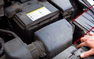Замена воздушного фильтра киа рио 2014