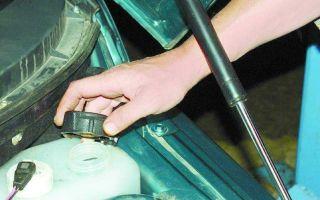 Замена охлаждающей жидкости ваз 2110 16 клапанов