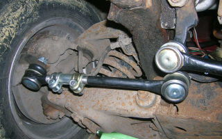 Как поменять рулевые тяги на ваз 2101
