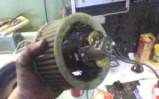 Замена моторчика печки рено симбол