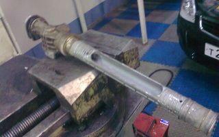 Ремонт рулевой рейки приора своими руками