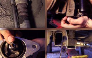 Форд фьюжн замена заднего амортизатора видео