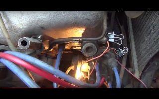 Как выставить зажигание на москвиче 412 видео