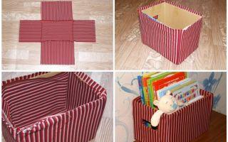 Сделать декоративную коробку своими руками