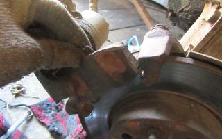 Как поменять передние колодки на ваз 2114