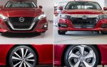 Auto showdown: 2019 nissan altima против 2018 honda accord