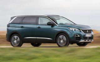 Peugeot 5008 2017 тест драйв