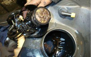 Как почистить топливный бак дизель