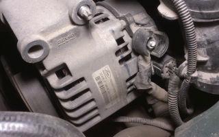 Установка генератора форд фокус 2 1 6