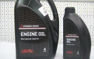 Какое масло заливать в двигатель митсубиси аутлендер