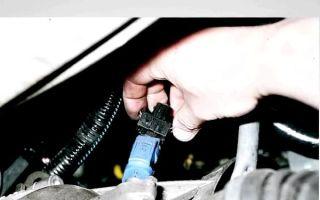 Как подключить датчик скорости на ваз 2109