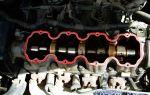 Замена прокладки клапанной крышки нексия 8 клапанов
