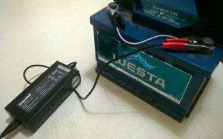 Как зарядить аккумулятор с помощью зарядного устройства
