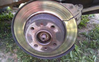 Сильно греются тормозные диски после замены колодок
