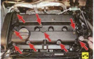 Замена прокладки двигателя форд фокус 2