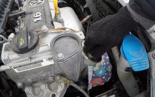 Фольксваген поло двигатель 1.6 замена масла