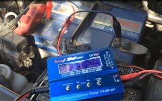 Зарядка автомобильного аккумулятора с помощью imax b6