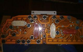 Замена лампочек в приборной панели газ 3110