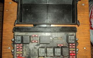 Блок предохранителей ваз 2109 карбюратор
