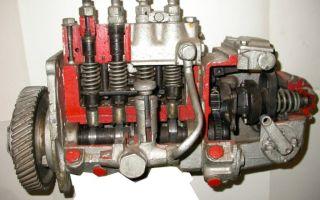 Топливный насос высокого давления тнвд дизельного двигателя
