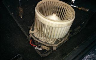 Не работает вентилятор печки ситроен с4 пикассо