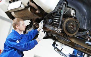Техническое обслуживание и ремонт ходовой части автомобиля