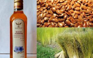 Чем можно заменить льняное масло