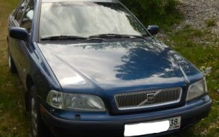 Volvo s40 1997 отзывы владельцев