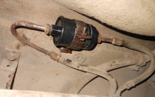 Замена топливного фильтра ваз 2115 фото