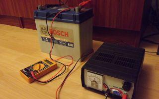 Как правильно зарядить автомобильный аккумулятор 55