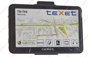 Обновить карты на навигаторе texet